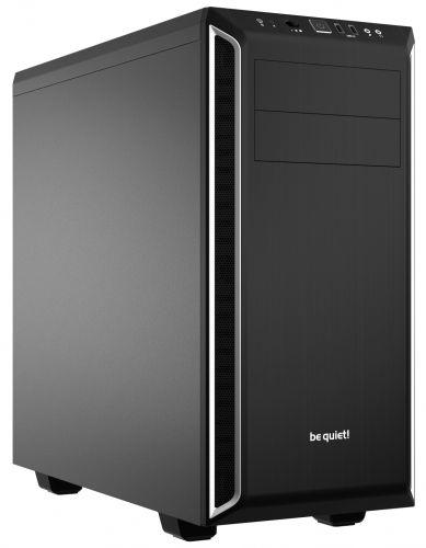 Корпус ATX Be quiet! Pure Base 600 Silver BG022 / ATX / 2x5.25, 3x3.5, 8x2.5 /черный с серебром