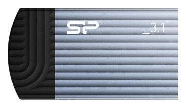 Фото - Накопитель USB 3.1 8GB Silicon Power Jewel J20 SP008GBUF3J20V1B синий накопитель usb 3 0 8gb silicon power jewel j08 sp008gbuf3j08v1k черный