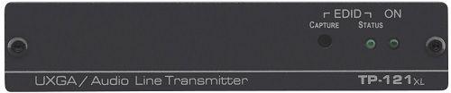 Передатчик Kramer TP-121XL 50-80177390 VGA/YUV и стерео аудио по витой паре, эмулятор EDID, до 250м (/50-80177190)