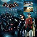 Warner Brothers Batman: Arkham Knight - Batman Classic TV Series Batmobile Pack