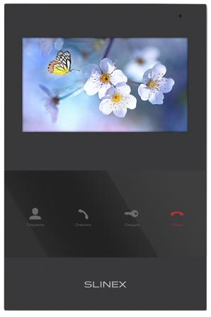 Видеодомофон Slinex SQ-04 цветной, настенный, 4.3