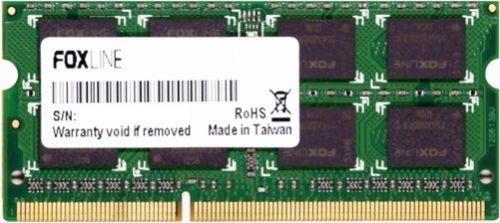 Фото - Модуль памяти SODIMM DDR4 8GB Foxline FL2400D4S17-8G PC4-19200 2400MHz CL17 (1GB*8) 1.2V модуль памяти hynix ddr4 dimm 2400mhz pc4 19200 cl15 8gb hma81gu6afr8n uhn0