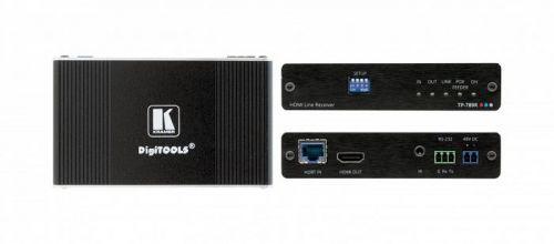 Приемник Kramer TP-789R 50-80506090 HDMI, RS-232, ИК по витой паре HDBaseT, поддержка 4К60 4:2:0, PoE