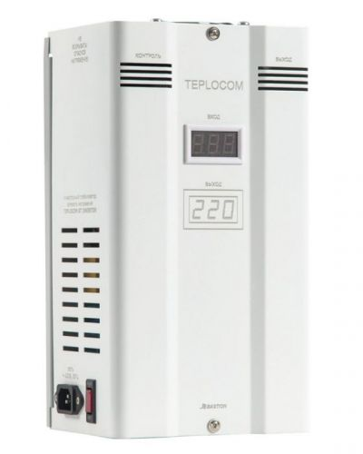 Стабилизатор Бастион Teplocom ST 1500 Invertor фазоинверторный сетевого напряжения