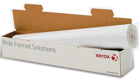 Бумага широкоформатная Xerox 003R94588 Бумага в рулонах 80м XEROX A0, 841мм, 75г/м2 не приклеена к втулке, Грузить кратно 2 рул.