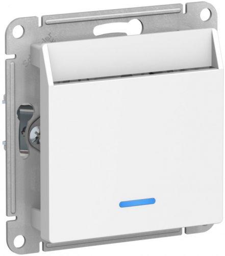 Переключатель Schneider Electric ATN000167 карточный с задержкой времени, механизм , белый