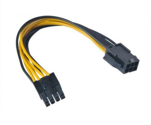 Переходник AKASA AK-CB051 питания для мат.плат 6-pin PCIe to 8-pin 15 см