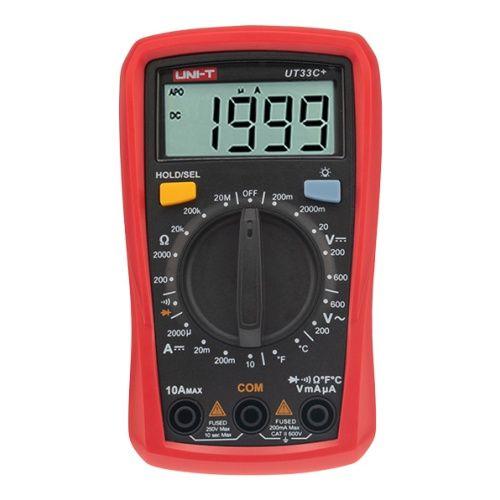 Мультиметр Rexant 13-0057 портативный UNI-T UT33C+