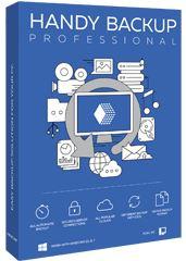 Право на использование (электронный ключ) Новософт Handy Backup Professional 8 4-9 ПК.