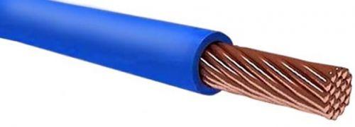 Провод РЭК-Prysmian ПУГВ 1х10 ГОСТ, установочный, синий 100 м