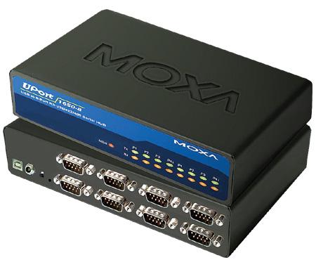 Преобразователь MOXA UPort 1610-8 8-портовый USB в RS-232