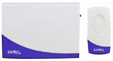 Звонок Zamel ST-919 СЮИТА беспроводной радиус действия 80м (питание от батареек)