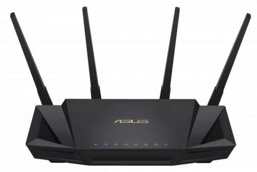 Маршрутизатор ASUS 90IG04Q0-MO3R10 RT-AX58U Wi Fi 802.11b/g/n/ac/ax, до 2402 + 574Mbps, 2,4 + 5 гГц, 4 антенны, USB