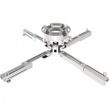 Крепление Wize PR-UNV-W универсальное для проектора, наклон +/- 25°, поворот +/- 6°, вращение 360°, до 23 кг, белое 0 pr на 100