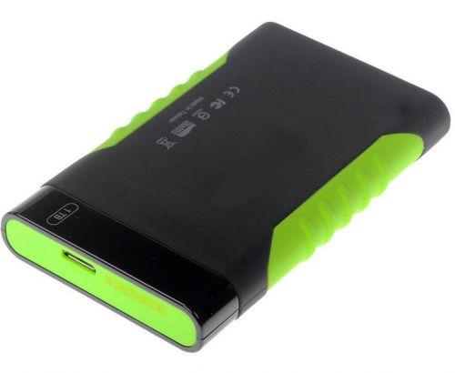 Silicon Power Внешний жесткий диск 2.5'' Silicon Power SP020TBPHDA15S3K 2TB A15 Black & Green Anti-shock USB 3.0
