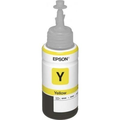 Чернила Cactus CS-EPT6644 для Epson L100, желтые, 100ml
