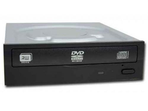Привод DVD±RW LITE-ON iHAS124 H/H Tray SATA 24x Black Bulk