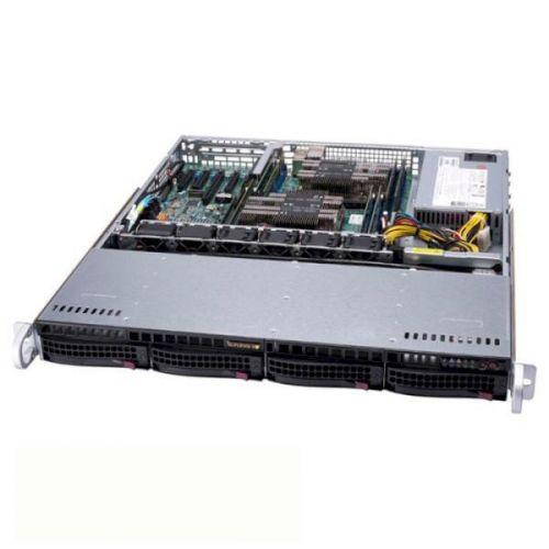 Корпус серверный 1U Supermicro CSE-813MFTQC-505CB 500W, черный корпус supermicro cse 836ba r920b черный