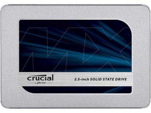 Фото - Накопитель SSD 2.5'' Crucial CT250MX500SSD1 MX500 250GB SATA 6Gb/s TLC 560/510MB/s 7nm накопитель ssd crucial 500gb mx500 m 2 2280 ct500mx500ssd4n