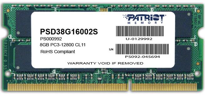 Patriot PSD38G16002S