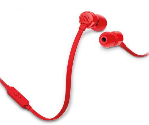 Наушники JBL T110 красные