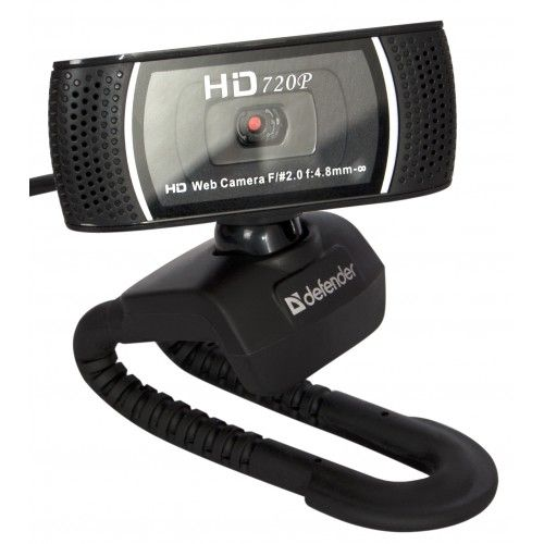 Веб-камера Defender G-lens 2597 HD720p 63197 2МП, 60°, микрофон, USB 2.0, автофокус, слеж. за лицом