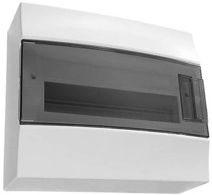 Бокс ABB 1SPE007717F9996 Mistral41 настенный 18М прозрачная дверь (с клемм)
