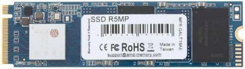 Накопитель SSD M. 2 2280 AMD R5MP480G8 480GB PCI-E x4 NVMe 3D TLC 2100/1600MB/s IOPS 249K/226K