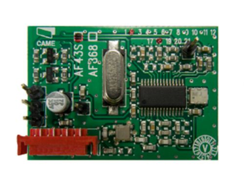 Радиоприемник CAME AF43S встраиваемый, 433,92 МГц, для брелков TOP-432NA, TOP-434NA, TAM-432SA