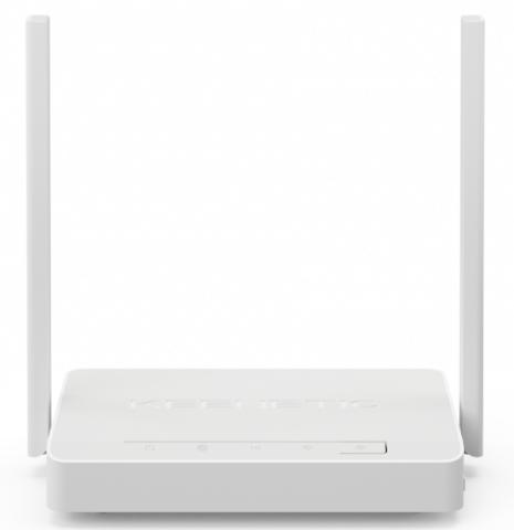 Интернет-центр Keenetic DSL (KN-2010) VDSL/ADSL с Wi-Fi N300 802.11b/g/n 2,4 ГГц, с усилителями приема, 4xEthernet 10/100, 1xUSB 2.0