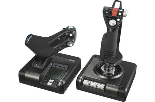 Джойстик Logitech G X52 PROFESSIONAL H.O.T.A.S. 945-000003 (рычаг управления двигателем для авиа и космических симуляторов)