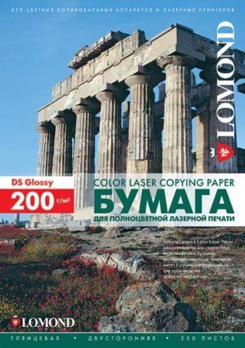 Фотобумага Lomond 0310331 Двухсторонняя Глянцевая, для лазерной печати, 200 г/м2, A3/250л.