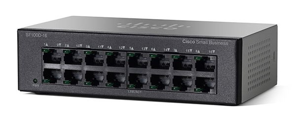 Cisco SB SF110D-16-EU