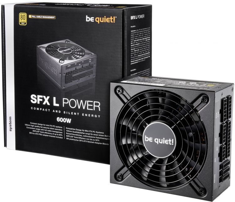 Be Quiet SFX-L POWER 600W