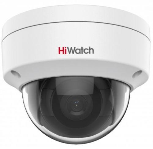 Фото - Видеокамера IP HiWatch IPC-D022-G2/S 2Мп с EXIR-подсветкой до 30м 1/2.8 Progressive Scan CMOS, 2.8мм, 107°, механический ИК-фильтр, 0.005лк F1.6, H.2 видеокамера ip hikvision ds 2cd2023g0 i 6mm 2мп 1 2 8 cmos exir подсветка 30м 6мм 54° механический ик фильтр 0 01лк f1 2 h 265 h 265 h 264
