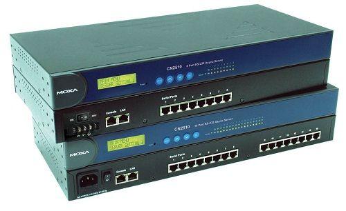 Сервер MOXA CN2510-8-48V 8 port Async Server, 10/100Mbps, RS-232 230.4 Kbps,RJ45,15KV,+/-48V