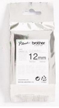 Наклейка Brother TZECL3 Наклейка чистящая (для очистки печатающей головки; 12 мм) наклейка