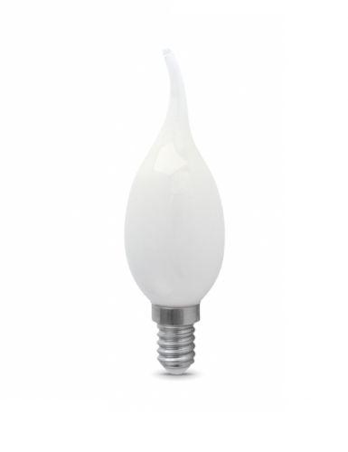 Лампа светодиодная Gauss 104201105 LED Filament Свеча на ветру OPAL E14 5W 420lm 2700К лампа gauss led filament свеча на ветру dimmable e14 5w 450lm 4100k 1 10 50