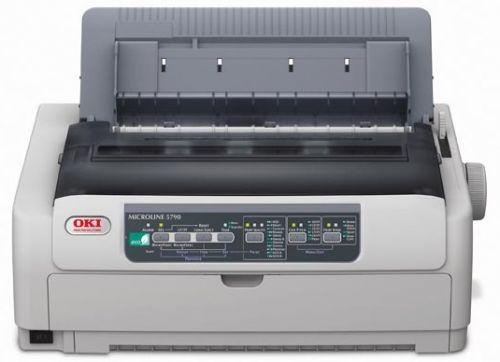 Фото - Принтер матричный OKI ML5790-ECO-EURO 44210105 24-х игольчатый, 80 колонок, скорость печати до 480 зн./сек. принтер цветной светодиодный oki pro9431dn multi 45530407