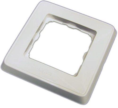 Рамка HostCall DR-01L (773660) одинарная белая для кнопок вызова и присутствия