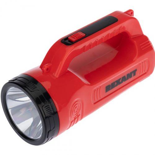Прожектор Rexant 75-706 поисковый с головным и боковым светом, с солнечной батареей, индикатор зарядки, выносное зарядное устройство и наплечный ремен
