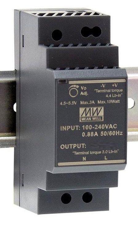 Преобразователь AC-DC сетевой Mean Well HDR-30-24