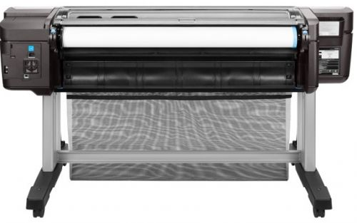 Плоттер HP Designjet T1700 W6B55A A0, 128Гб (виртуальная), HDD500Гб, USB, LAN