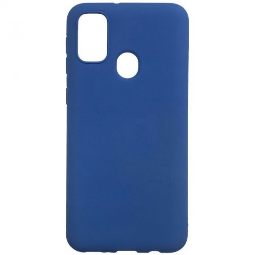 Фото - Чехол BoraSco Microfiber Case BoraSco 38940 для Samsung (M215) Galaxy M21 синий чехол флип кейс borasco shell case для samsung galaxy m21 зеленый [39139]