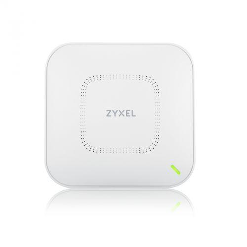 Точка доступа ZYXEL NebulaFlex Pro WAX650S WiFi 6, 802.11a/b/g/n/ac/ax (2,4 и 5 ГГц), MU-MIMO, Smart Antenna, внутренние антенны 4x4, до 1200+2400 Мби