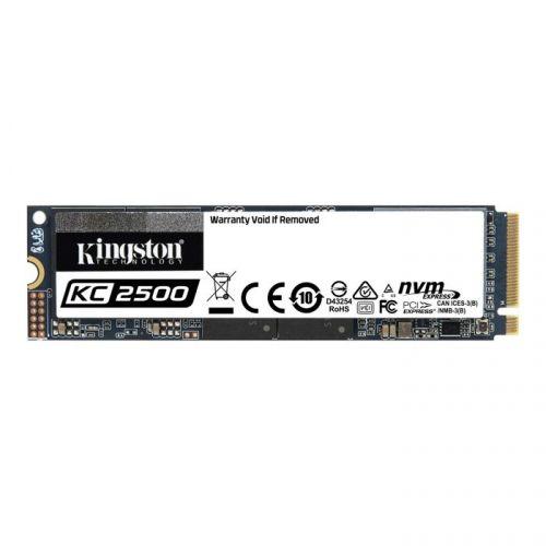 Фото - Накопитель SSD M.2 2280 Kingston SKC2500M8/250G KC2500 250GB NVMe PCIe Gen 3.0 x 4 3D TLC NAND 3500/1200MB/s IOPS 375K/300K MTBF 2M внешний ssd samsung 250gb 980 pro m 2 pcie nvme mlc v nand mz v8p250bw