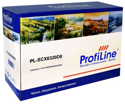 Картридж ProfiLine PL_SCX-6320D8 для Samsung SCX-6112/SCX-6122/SCX-6220/SCX-6320F/SCX-6320FN/SCX-6322/SCX-6520/SCX-6520FN 8000 копий