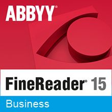 Подписка (электронно) ABBYY FineReader PDF 15 Business на 1 год (Standalone)