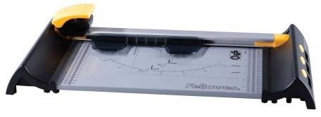 Резак Fellowes Electron A4 дисковый, комплект из 4-х картриджей, прямая резка/биговка/перфорация/волна