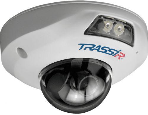 Видеокамера IP TRASSIR TR-D4151IR1 3.6 миниатюрная вандалостойкая 5Мп. 1/2.8